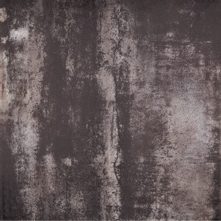 "Metallica Black Porcelain Tile - 24"" x 24"" x 3/8"" Semi Polished"