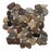 "3 Color Mixed Marble Pebble - 12"" x 12"" Flat Polished"