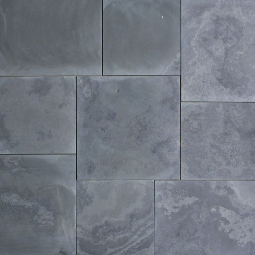 Montauk Black Slate Tile - Honed