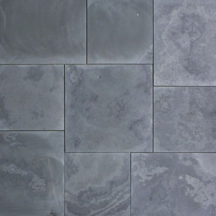 "Full Tile Sample - Montauk Black Slate Tile - 6"" x 24"" x 3/8"" Honed"