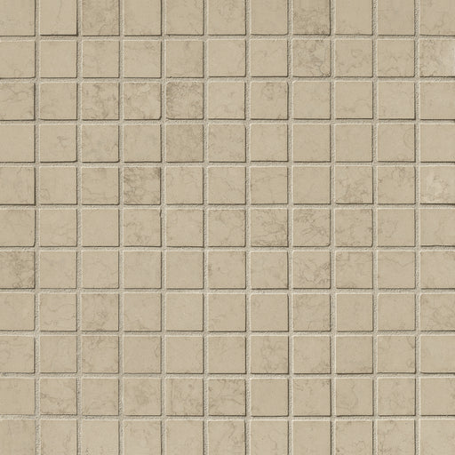 "Nova Gray Limestone Mosaic - 1"" x 1"" Honed"