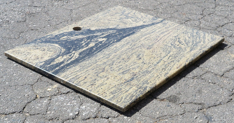 "Opal Green Granite Table - 25"" x 30"" x 3/4"""