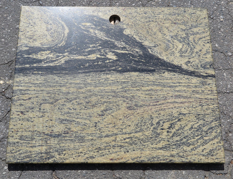 "Opal Green Granite Table - 25"" x 30"" x 3/4"" Polished"