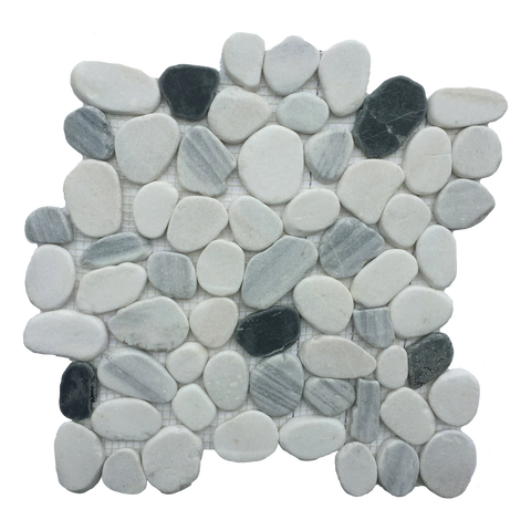 "Orion Marble Pebble - 12"" x 12"" Flat Matte"