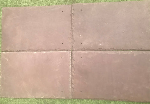 "Purple Roof Tile - 10"" x 16"" x 1/4"""