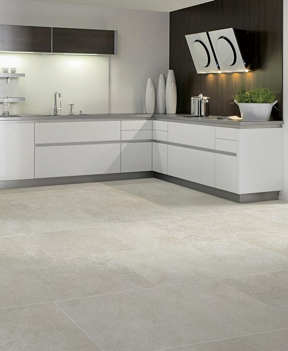 Matte Absolute Ash Porcelain Tile
