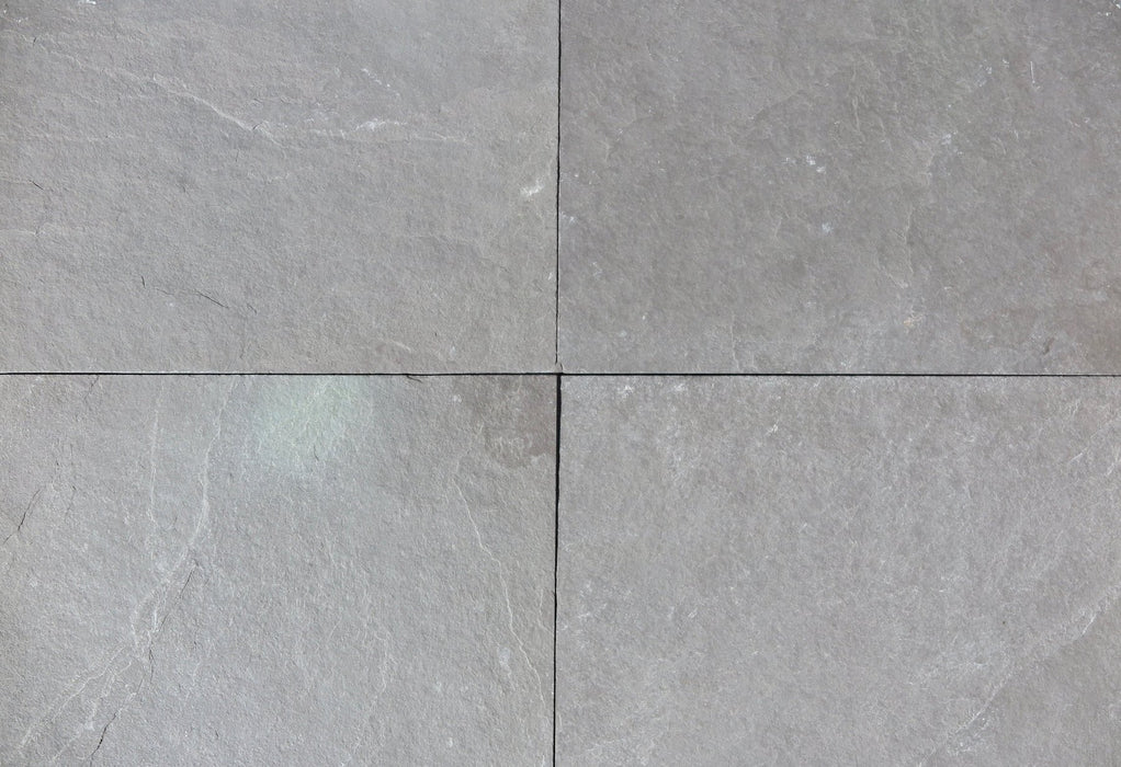 "Plum Slate Natural Cleft Face, Gauged Back Tile - 12"" x 12"" x 3/8"""
