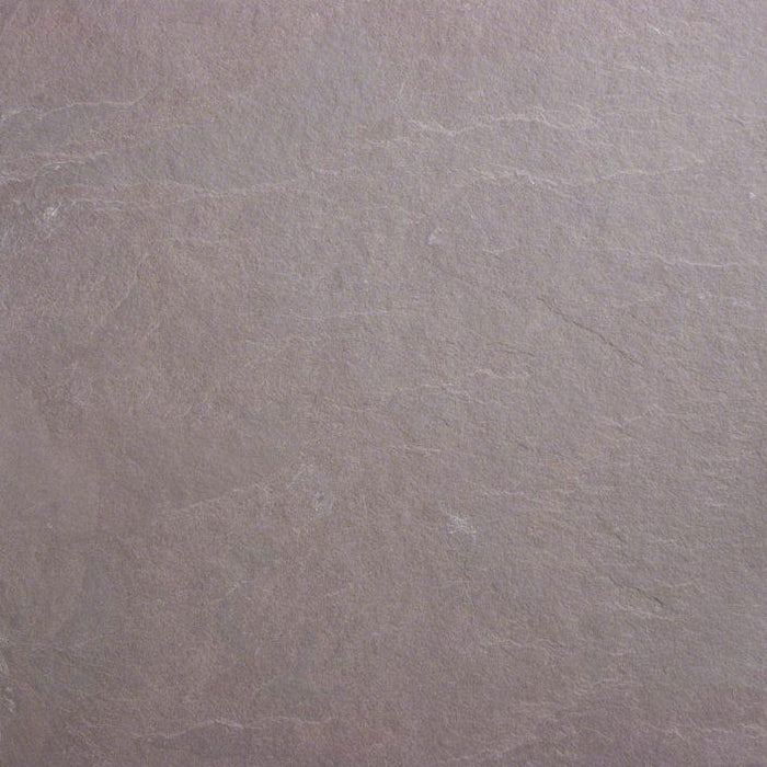 "Full Tile Sample - Plum Slate Slate Tile - 3"" x 12"" x 3/8"" Natural Cleft Face, Gauged Back"