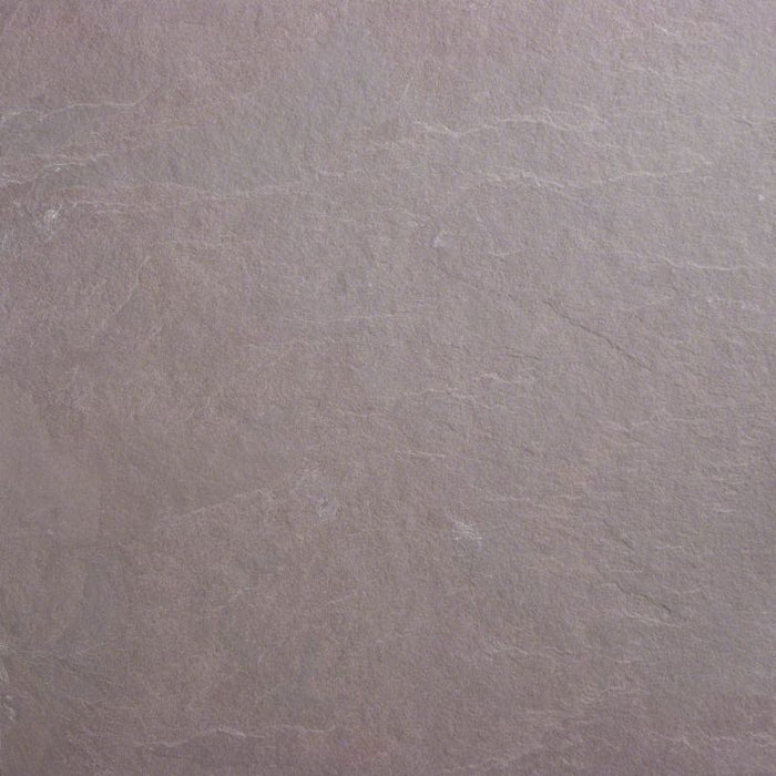 Plum Slate Natural Cleft Face, Gauged Back Tile