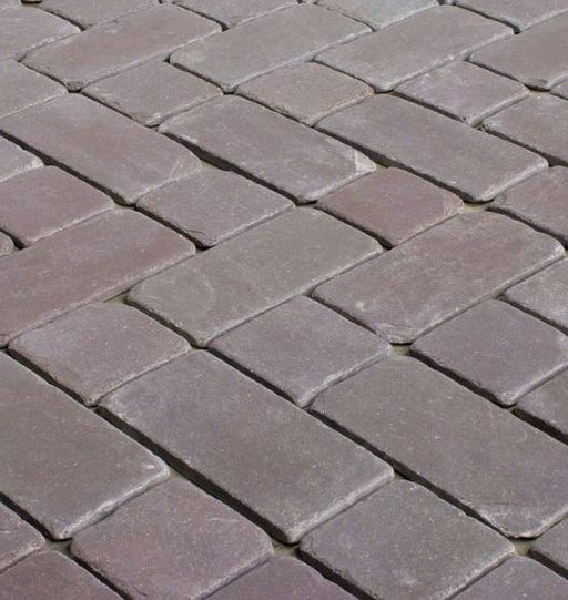 Plum Slate Tumbled Tile