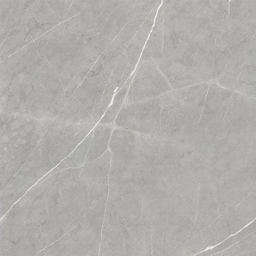 "Precious Marble Silver Gray Porcelain Tile - 36"" x 36"" x 3/8"" Polished"