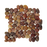 "Red Marble Pebble - 12"" x 12"" Rounded Polished"