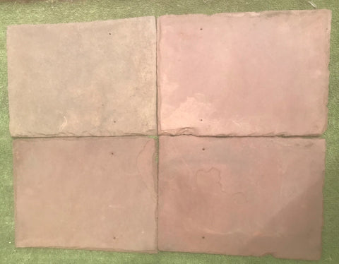 "Sienna Red Roof Tile - 12"" x 16"" x 1/4"""