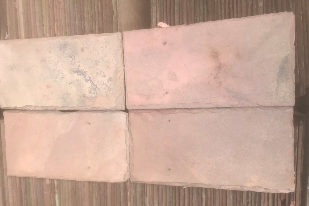 Sienna Red Natural Cleft Face & Back Roof Tile