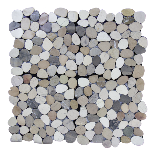 "Sand Marble Pebble - 12"" x 12"" Flat Matte"