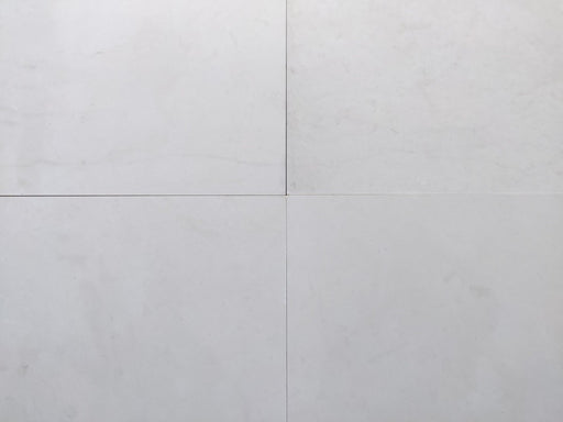 "Tuscan White Limestone Tile - 24"" x 24"" x 5/8"" Polished"