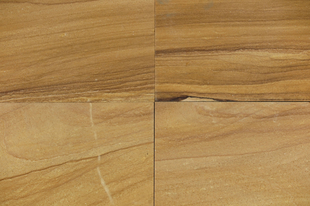Teakwood Sandstone Tile Polished