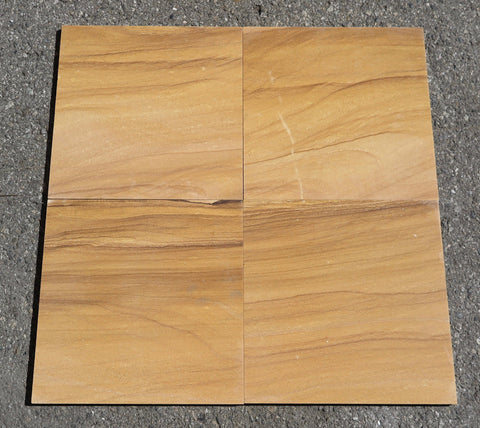 Polished Teakwood Sandstone Tile