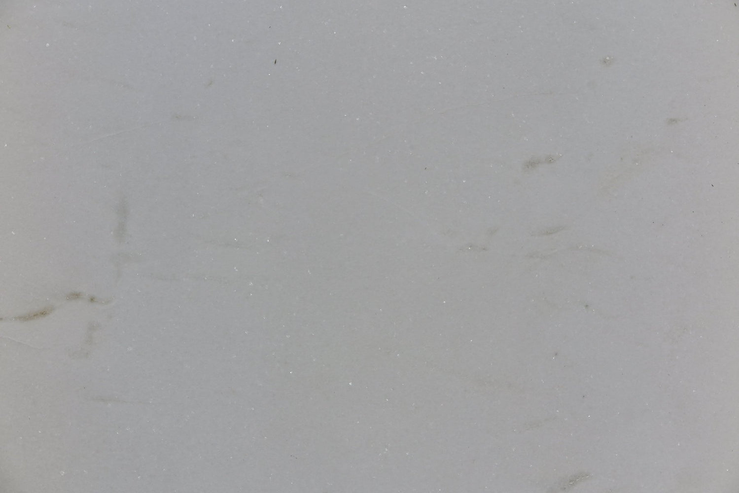 "Full Tile Sample - Thassos White Standard Marble Tile - 18"" x 18"" x 3/8"" Polished"