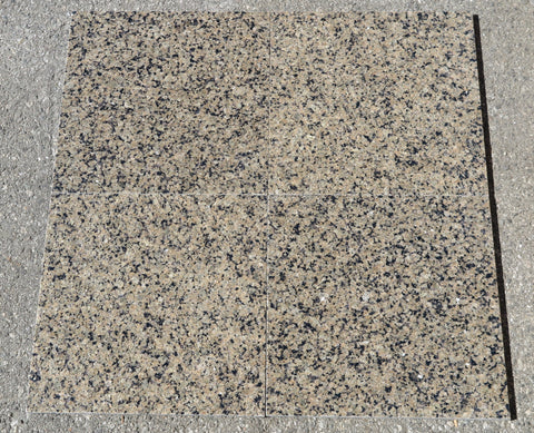 "Tropical Brown Granite Tile - 12"" x 12"" x 5/16"" Polished"