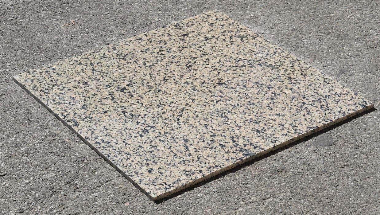 "Tropical Gold Granite Tile - 12"" x 12"" x 3/8"""