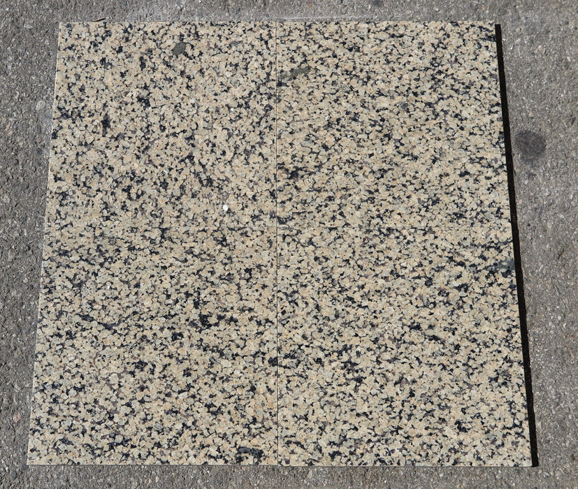 "Tropical Gold Granite Tile - Polished 12"" x 12"" x 3/8"""