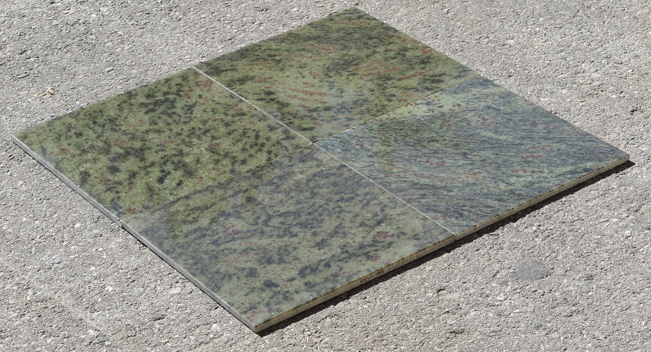 Tropical Green Granite Tile Polished