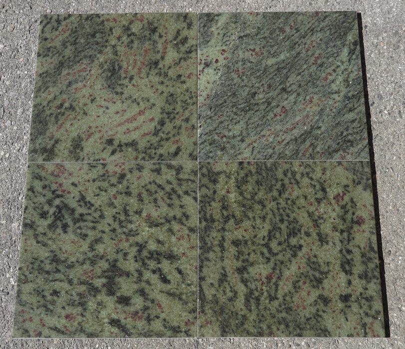 Tropical Green Granite Tile