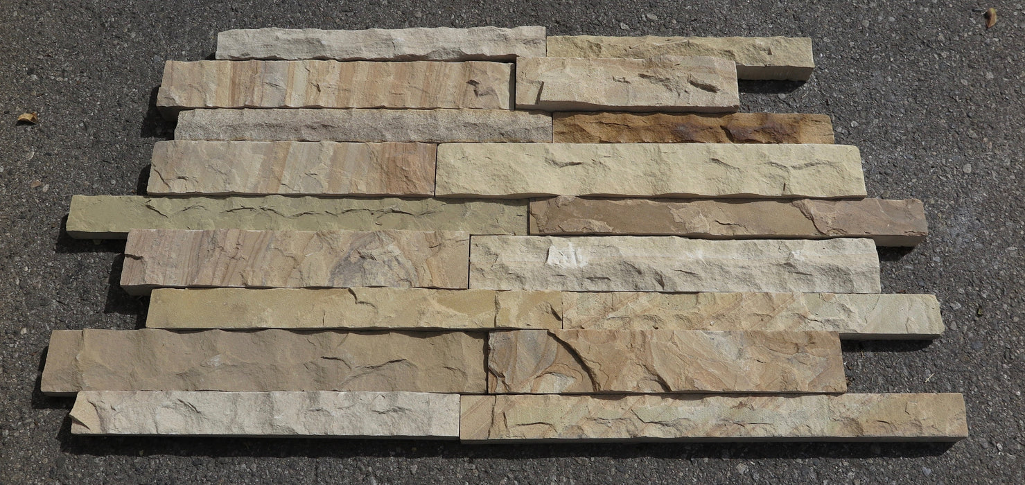 Split Face Utah Sunrise Sandstone Ledgerstone