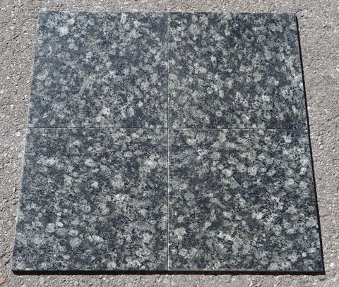 "Verde Fontaine Granite Tile - 12"" x 12"" x 5/16"""
