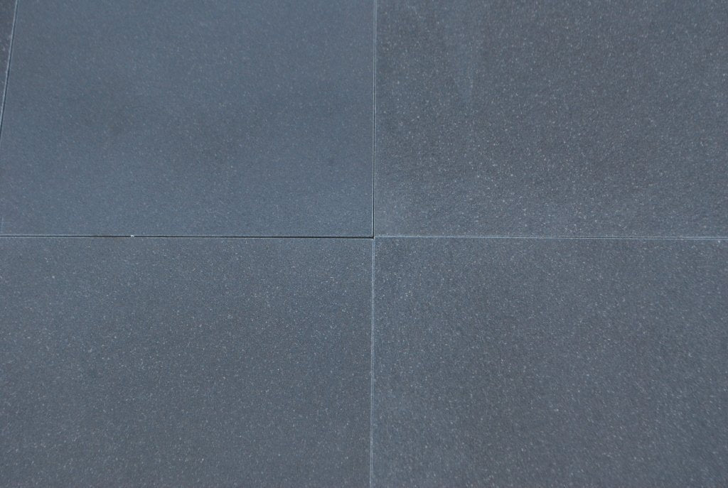 Absolute Black Honed Granite Tile