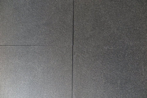 "Absolute Black Granite Tile - 24"" x 24"" x 5/8"""