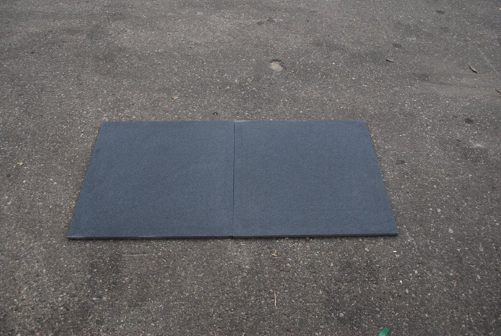 Honed Absolute Black Granite Tile