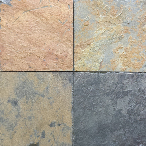 African Multi Color Slate Tile