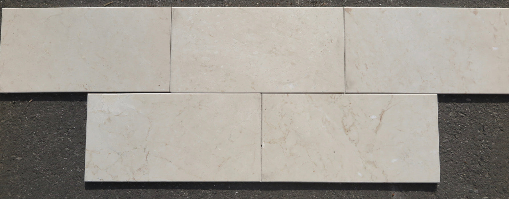 "Afyon Cream Marble Threshold - 26"" x 76"" x 1 1/14"" Polished"
