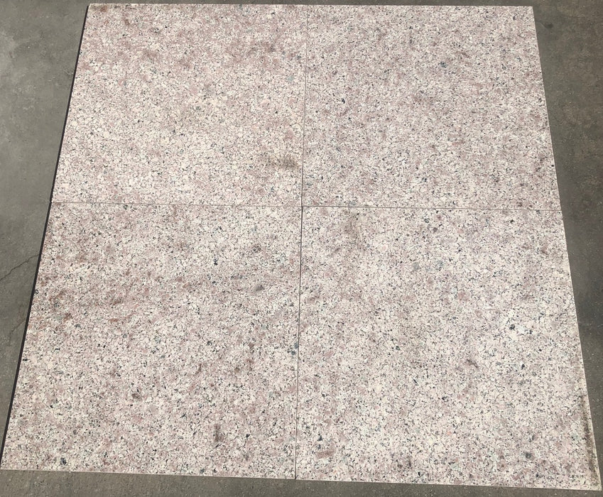 "Almond Mauve Granite Tile - 12"" x 12"" x 3/8"""