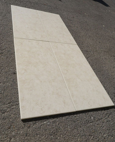 "Honed Aurea Porcelain Tile - 12"" x 24"" x 1/4"""