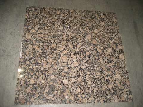 "Baltic Brown Granite Tile - 12"" x 12"" x 3/8"""