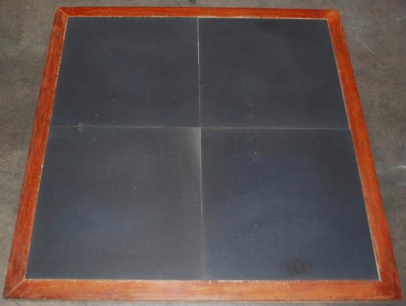 "Basalt Dark Basalt Tile - 18"" x 18"" x 1/2"" Honed"