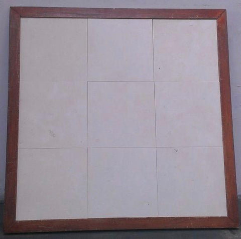 Honed Biancone Marble Tile