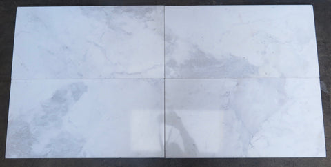 Polished Bianco Volakas Marble Tile