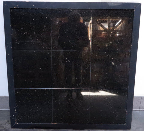 "Polished Black Galaxy Standard Granite Tile - 12"" x 12"" x 3/8"""