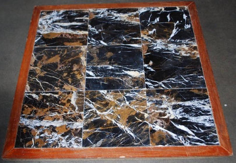 Black & Gold Marble Tile