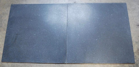 "Honed Black Granite Tile - 24"" x 24"" x 1/2"""