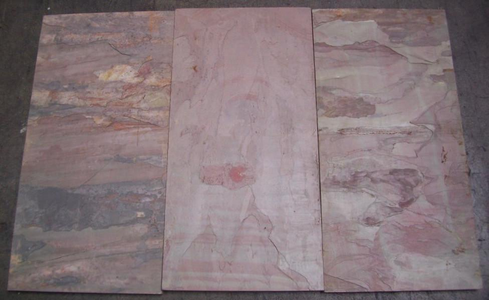 "Burnt Sienna Slate Tile - 12"" x 24"" x 3/4"""
