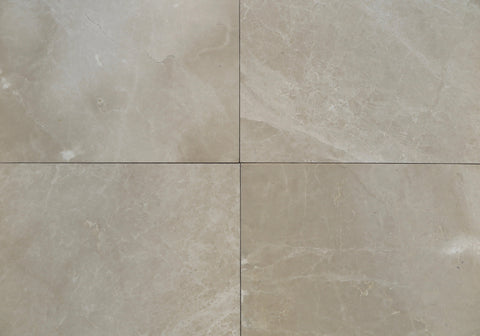 Polished Crema Aakar Marble Tile