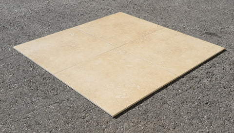 Unpolished Crema Dorata Porcelain Tile