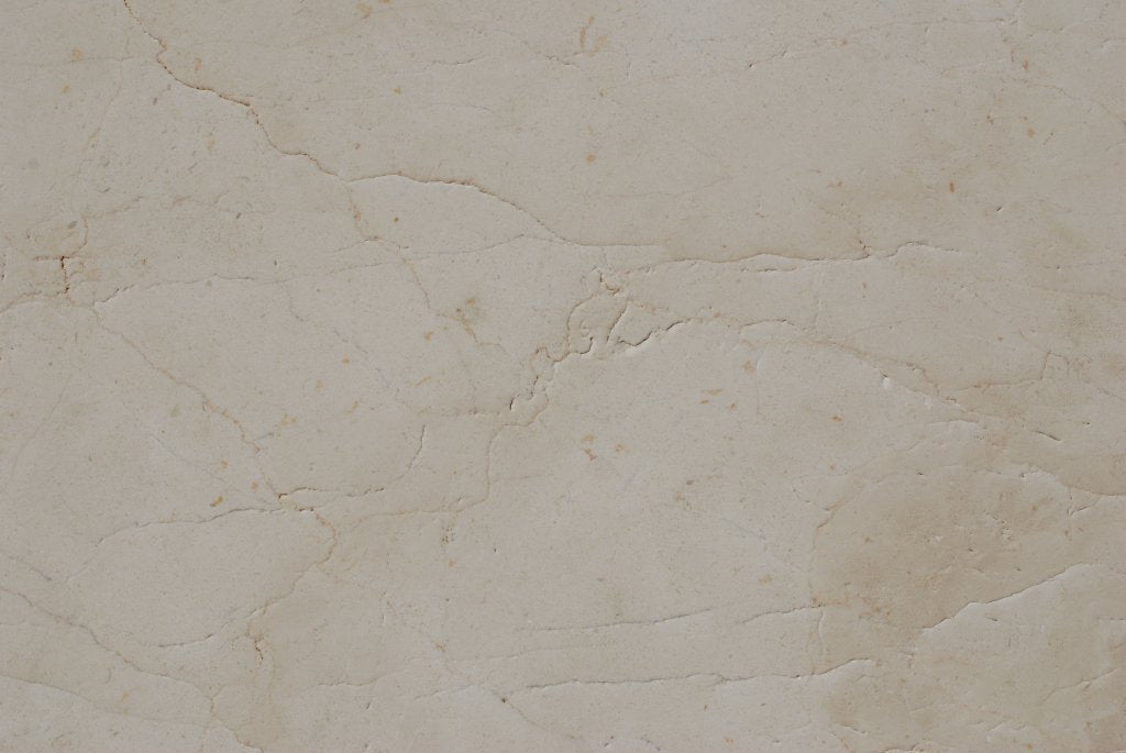 "Full Tile Sample - Crema Marfil Marble Tile - 18"" x 18"" x 1/2"" Antique"