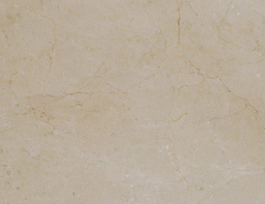 "Full Tile Sample - Crema Marfil Standard Marble Tile - 28"" x 28"" x 1/2"" - 5/8"" Polished"