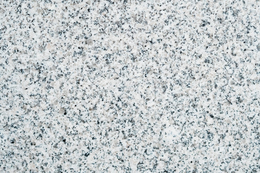 "Full Tile Sample - Crystal White Granite Tile - 12"" x 12"" x 3/8"" Polished"